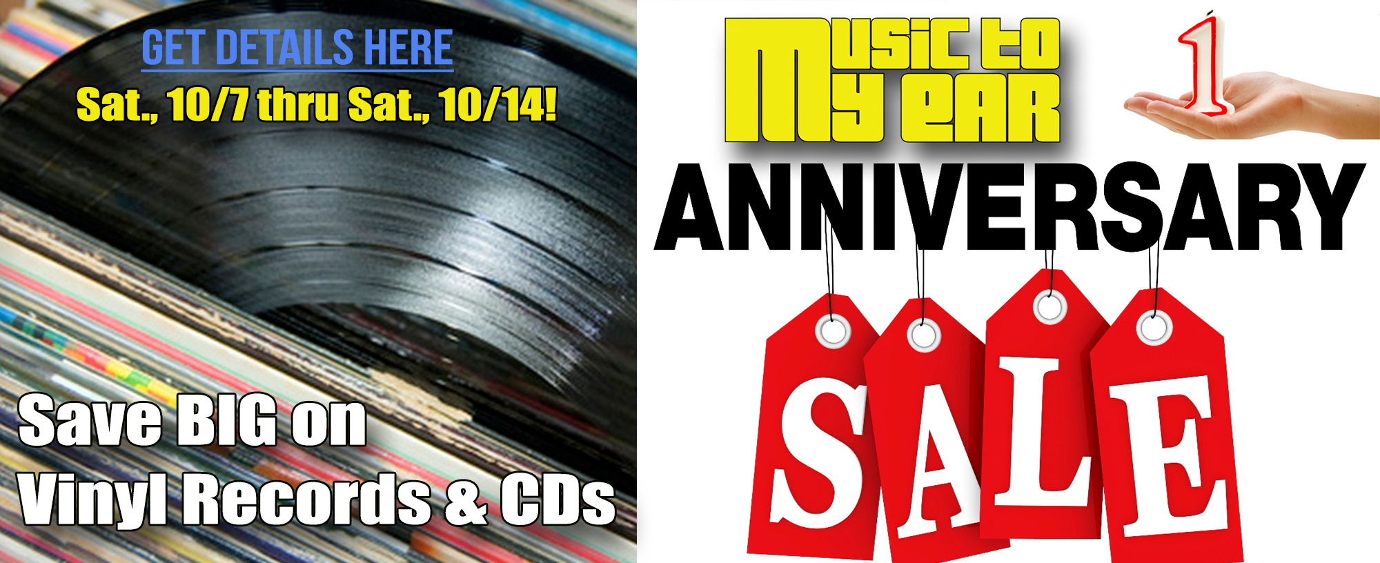 Anniversary Sale Records Cds