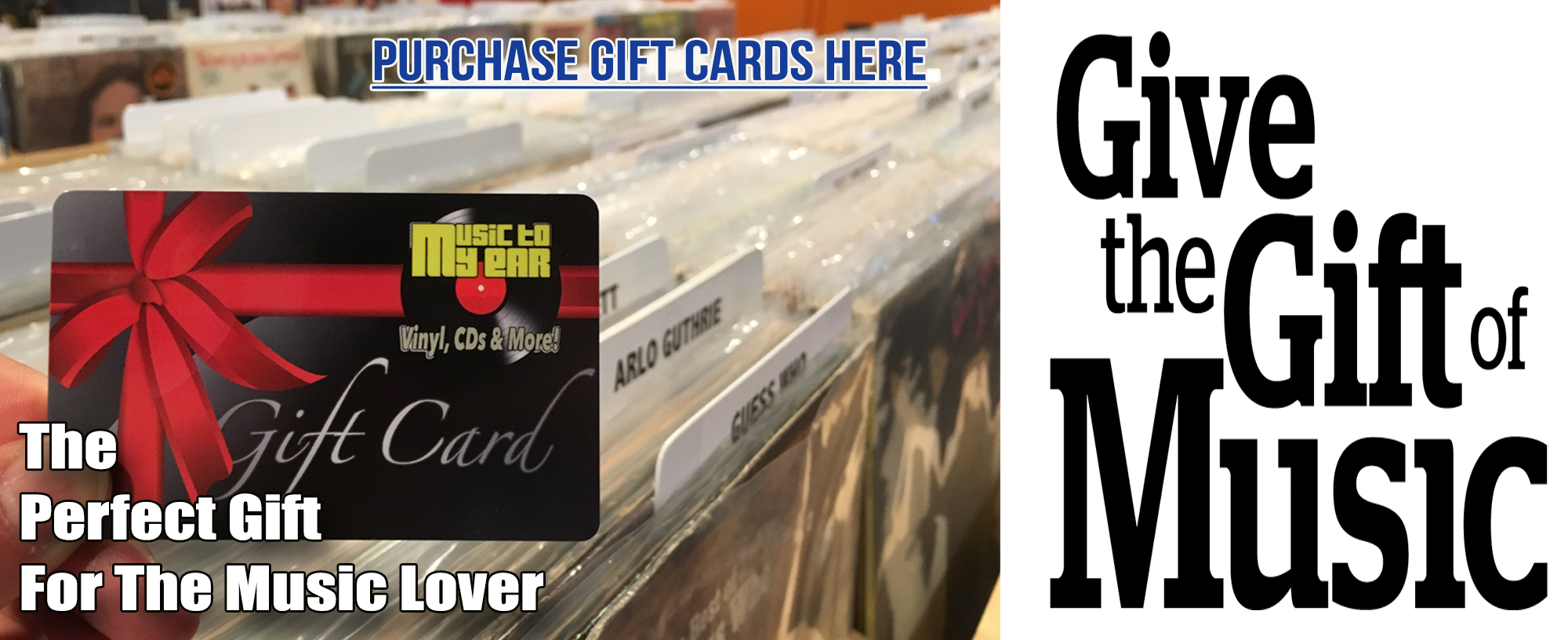 Purchase Music To My Ear Gift Cards