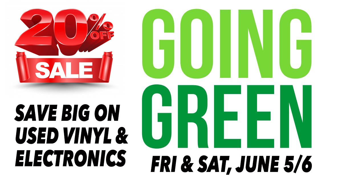 Going Green SALE