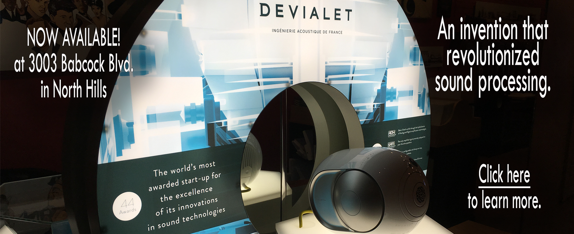 Now in Pittsburgh-Devialet