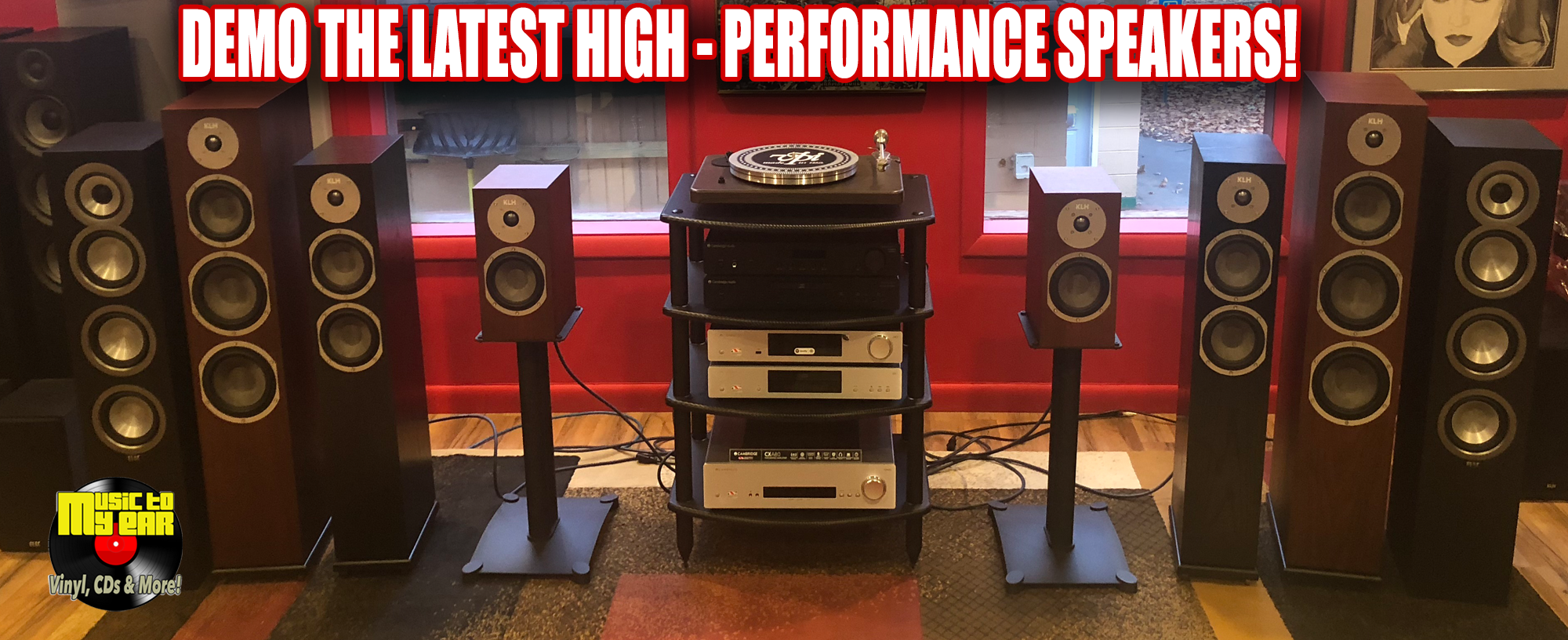 Demo Our High Performance Speakers