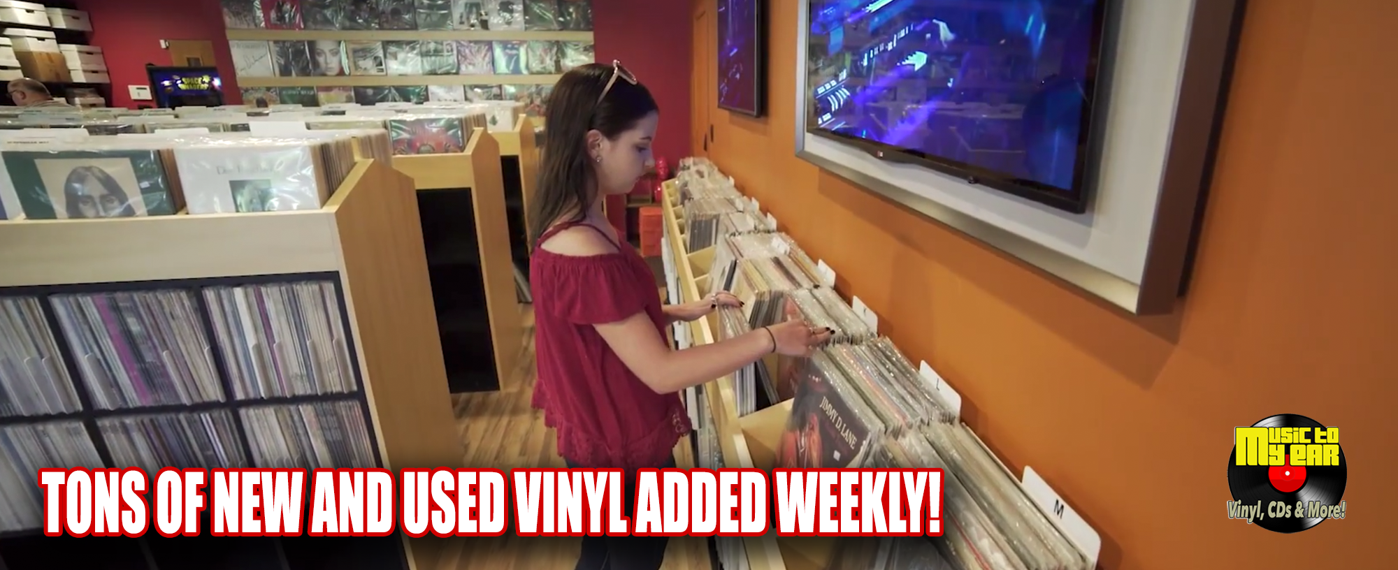 New and Used Vinyl Added Weekly